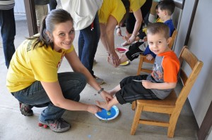 messy church easter 2015